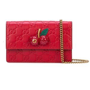 HOST PICK 🍒Gucci Mini Bag with Cherries in Red🍒